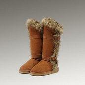 shoes,cheap women tall shoes,fox fur tall boots ugg