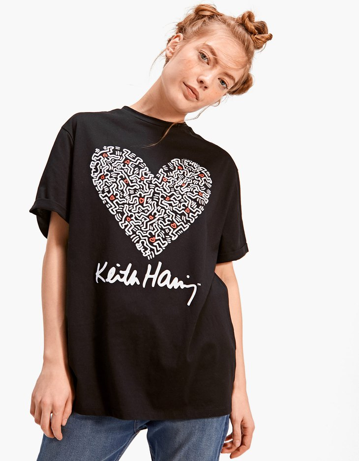 T-shirt Keith Haring - null | Stradivarius France