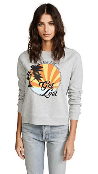 Rebecca Minkoff sweatshirt grey heather grey sweater