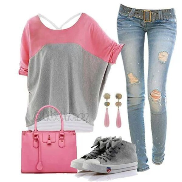 ef0e82574430 shoes grey bow sneakers converse pretty cute lovely jeans