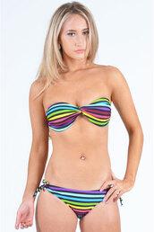 shorts,bikini,multi-coloured