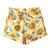 Sunflower Print High-waist Denim Shorts | Pariscoming