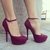 Take Sides Faux Suede Platforms | cute | Pinterest | Platform, Heels and Shoes