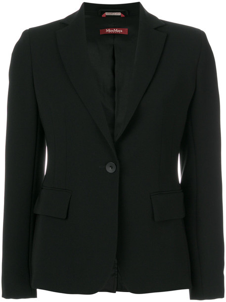 Max Mara Studio blazer women black jacket