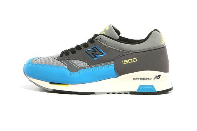 Men's new balance M1500BBL classic Grey Blue Black Shoes