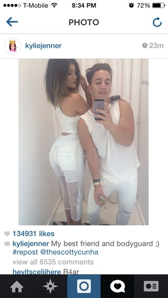 pants kylie jenner keeping up with the kardashians