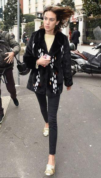 shoes jacket milan fashion week 2016 streetstyle fashion week 2016 pilgrim shoes high heel loafers