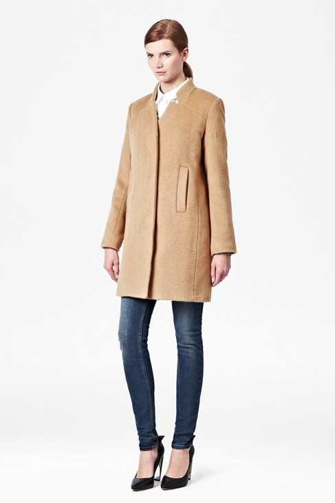 Divine Dorothy Coat - Coats & Jackets - French Connection Usa