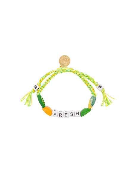 Venessa Arizaga women green lime jewels
