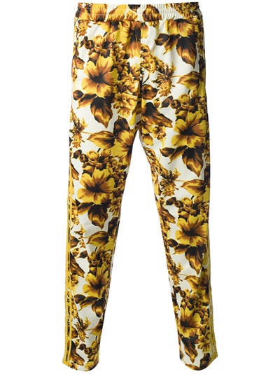 Adidas Originals By Jeremy Scott Floral Print Trouser - Wok-store - Farfetch.com