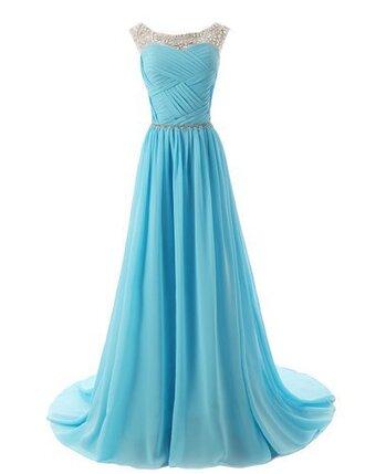 dress prom dress bridesmaid long prom dress long bridesmaid dress crystal prom dress