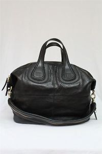 New Givenchy Medium Nightingale Calf Leather 2013 Black Hobo Bag $2300 | eBay