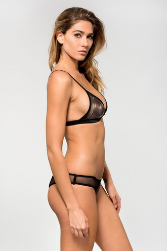 swimwear bikini bottoms black cheeky dbrie swim skimpy