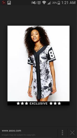 shirt jersey baseball jersey dress dress