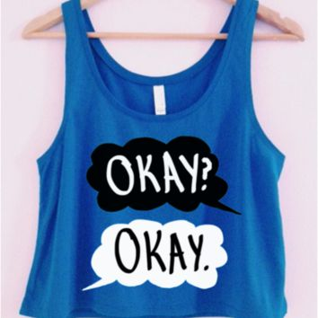 The Fault In Our Stars Crop-Top on Wanelo