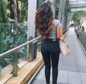 jeans black jeans tumblr outfit pants