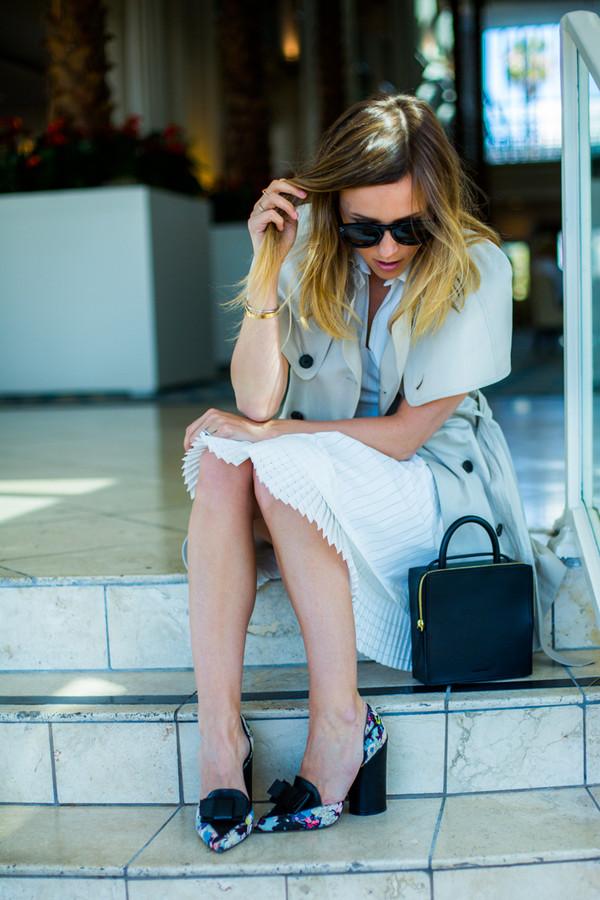 damsel in dior dress shoes coat bag