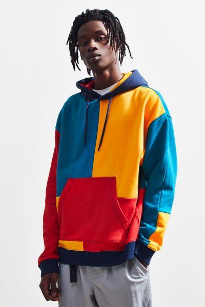 UO Colorblocked Hoodie Sweatshirt