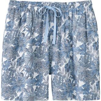 shorts blue shorts liberty uniqlo flowered shorts