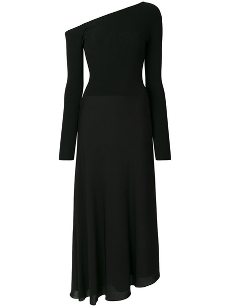 theory dress women black silk