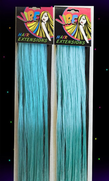 hair accessory mint vibe mint blue hext hair extensions mint