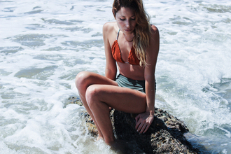 the marcy stop blogger swimwear top