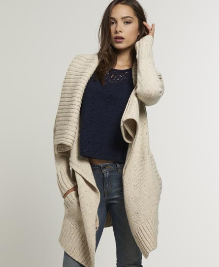 Superdry Superwolf Cardigan - Women's Knitwear
