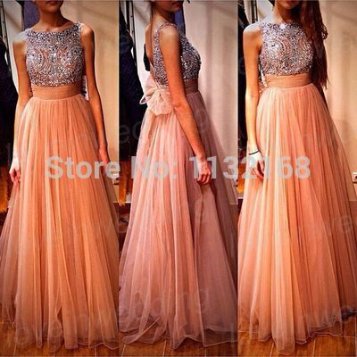 Aliexpress.com : Buy Affordable A line beaded Backless Peach Organza Prom dresses floor length,cheap 2014 peach formal evening dresses gowns,hot new from Reliable Prom Dresses suppliers on Making your dreaming dress!