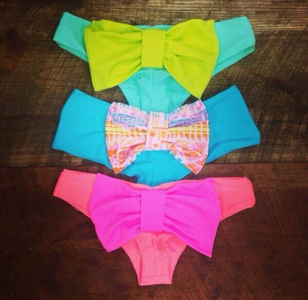 swimwear colored swimwear
