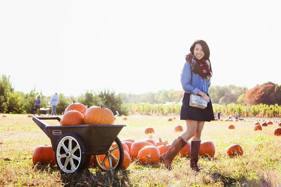 denim shirt blogger bag refined couture scarf halloween boots tartan clutch thanksgiving