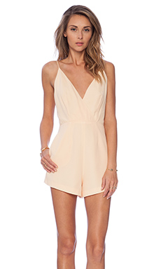 Finders keepers all time high cut out romper in golden fleece from revolveclothing.com