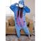 Blue donkey cartoon onesies pajamas for women_64.05