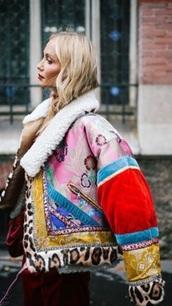 coat,patchwork