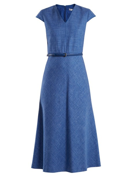 Max Mara dress light blue light blue