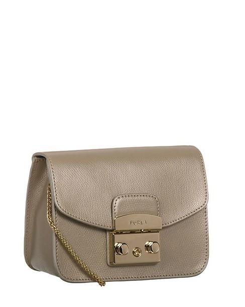 Furla mini gold bag