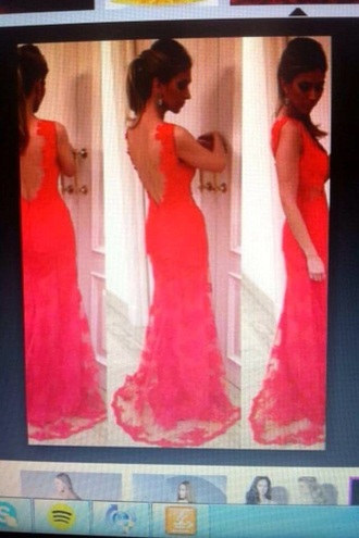 dress pink lace open back pink dress lace dress prom dress open back prom dress