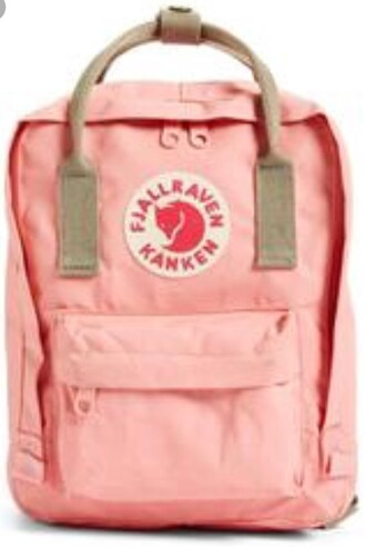 bag pink fjallraven kanken backpack