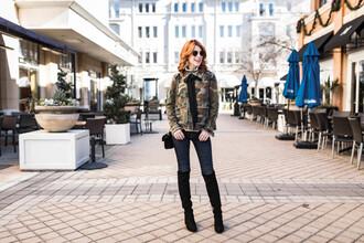 themiddlepage blogger jacket jeans shoes bag jewels