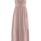 Romwe | one-shoulder crossed pleated maxi deep rose dress, the latest street fashion