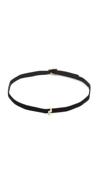 necklace choker necklace gold white black jewels