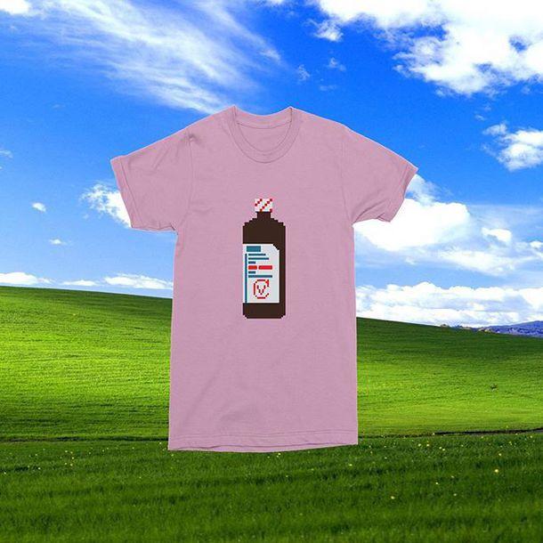 Shirt, $30 at bobsliquorstore com - Wheretoget
