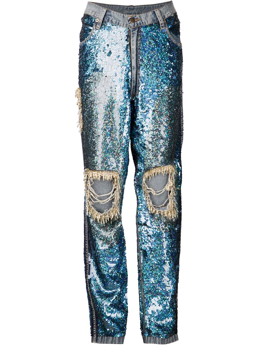 Ashish sequined jeans