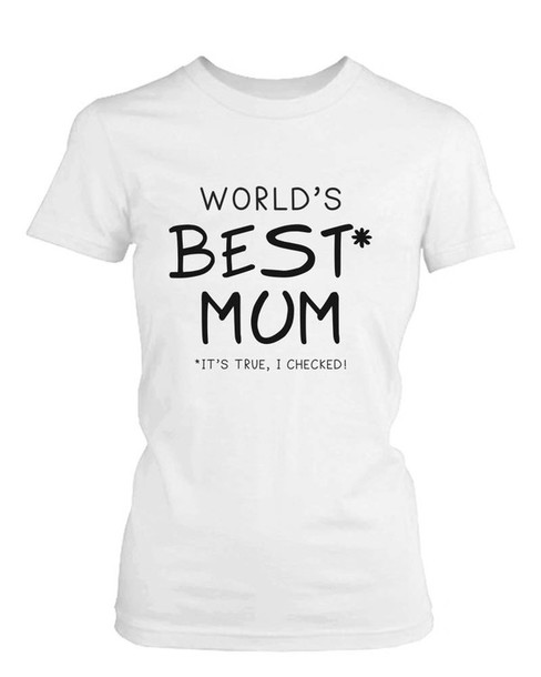 1c1e0537 t-shirt, best mum, mom, mother's day, gift ideas, white tee, graphic ...