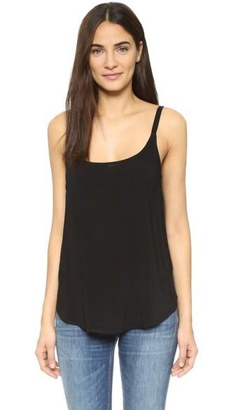 camisole black underwear