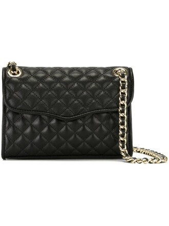 quilted bag crossbody bag black