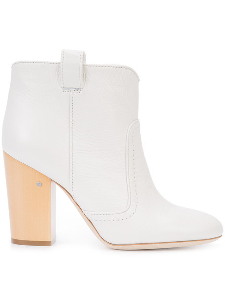LAURENCE DACADE women leather white shoes