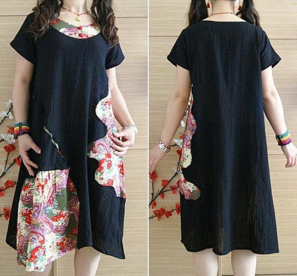 dress black summer dress