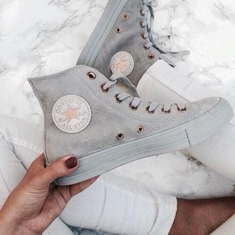 shoes converse grey white love pastel