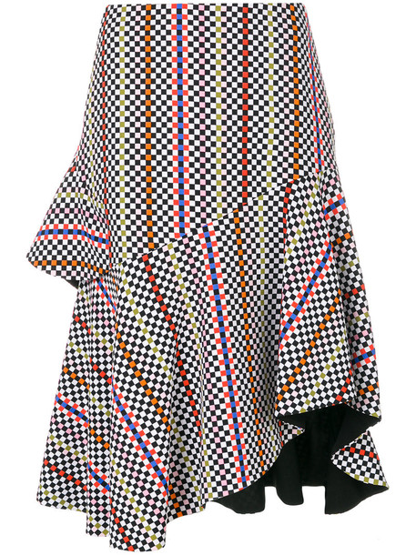PREEN BY THORNTON BREGAZZI skirt tulip skirt women spandex