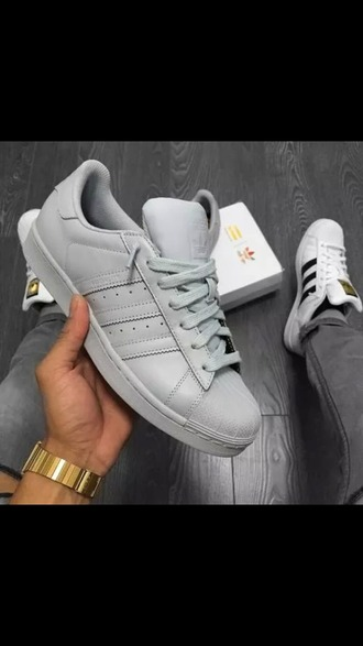 shoes grey adidas adidas shoes gray adidas blue adidas superstars leather grey sneakers low top sneakers adidas supercolor